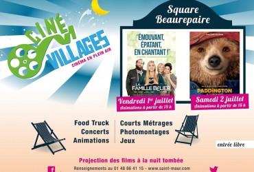 La Famille Bélier et Paddington à Ciné-Villages les 1er & 2 juillet 2016