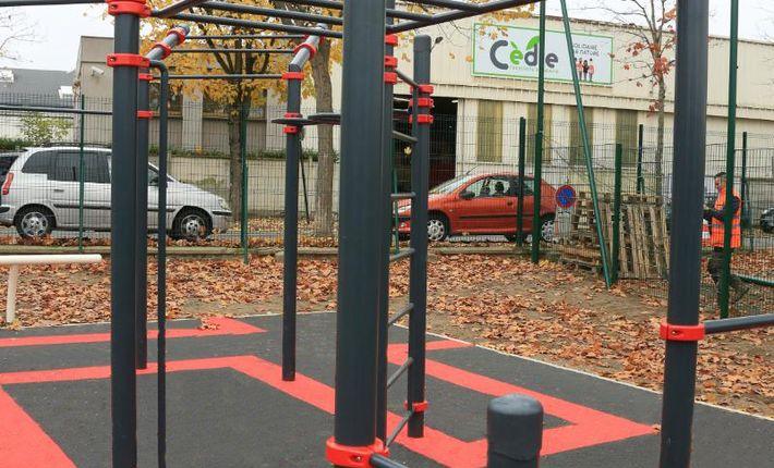Une aire de fitness et un city stade à Saint-Maur