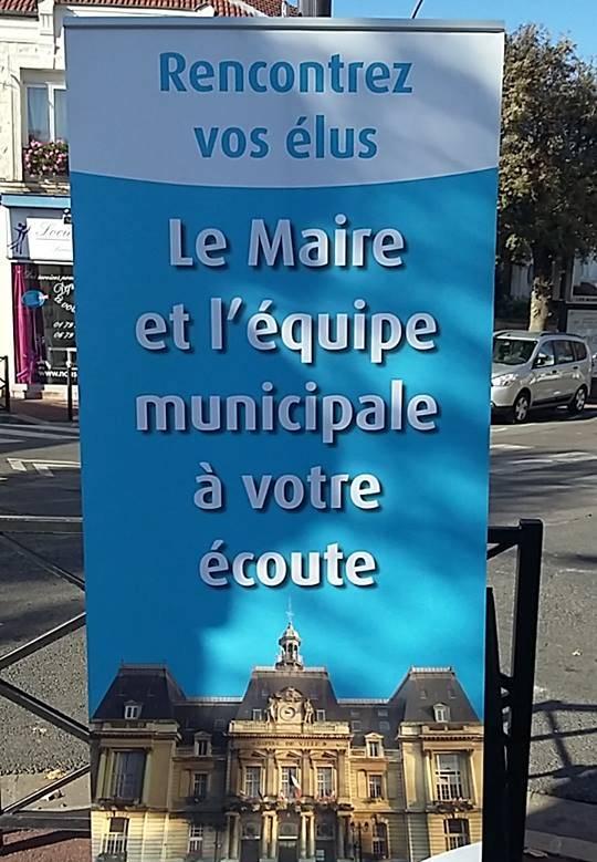 Permanence marchés des élus Saint-Maur Notre Choix