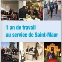 1 an de travail au service de Saint-Maur