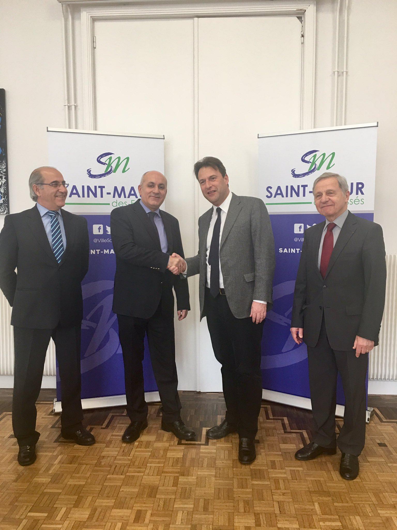Amitié France-Portugal : visite du consul général à Saint-Maur-des-Fossés