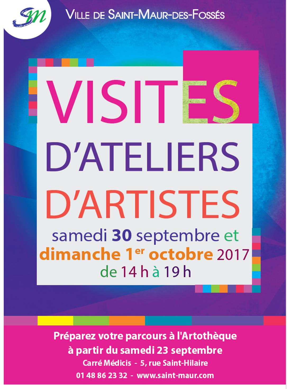 Portes ouvertes des ateliers d'artistes à Saint-Maur