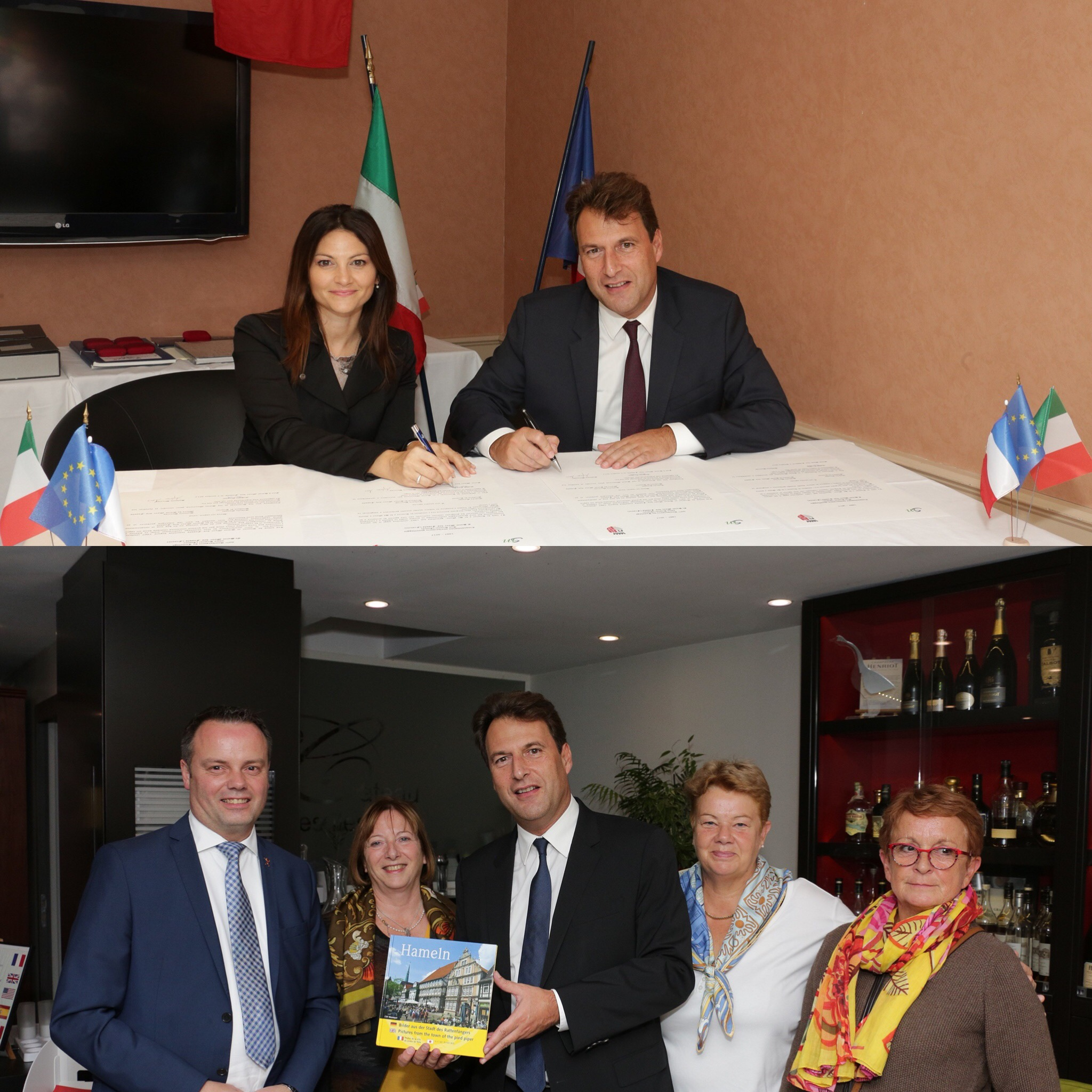 Rimini et Hameln : un demi siècle de jumelage avec Saint-Maur