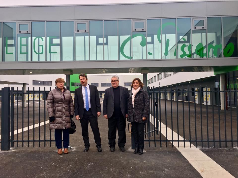 Le nouveau collège Camille Pissaro a ouvert ses portes