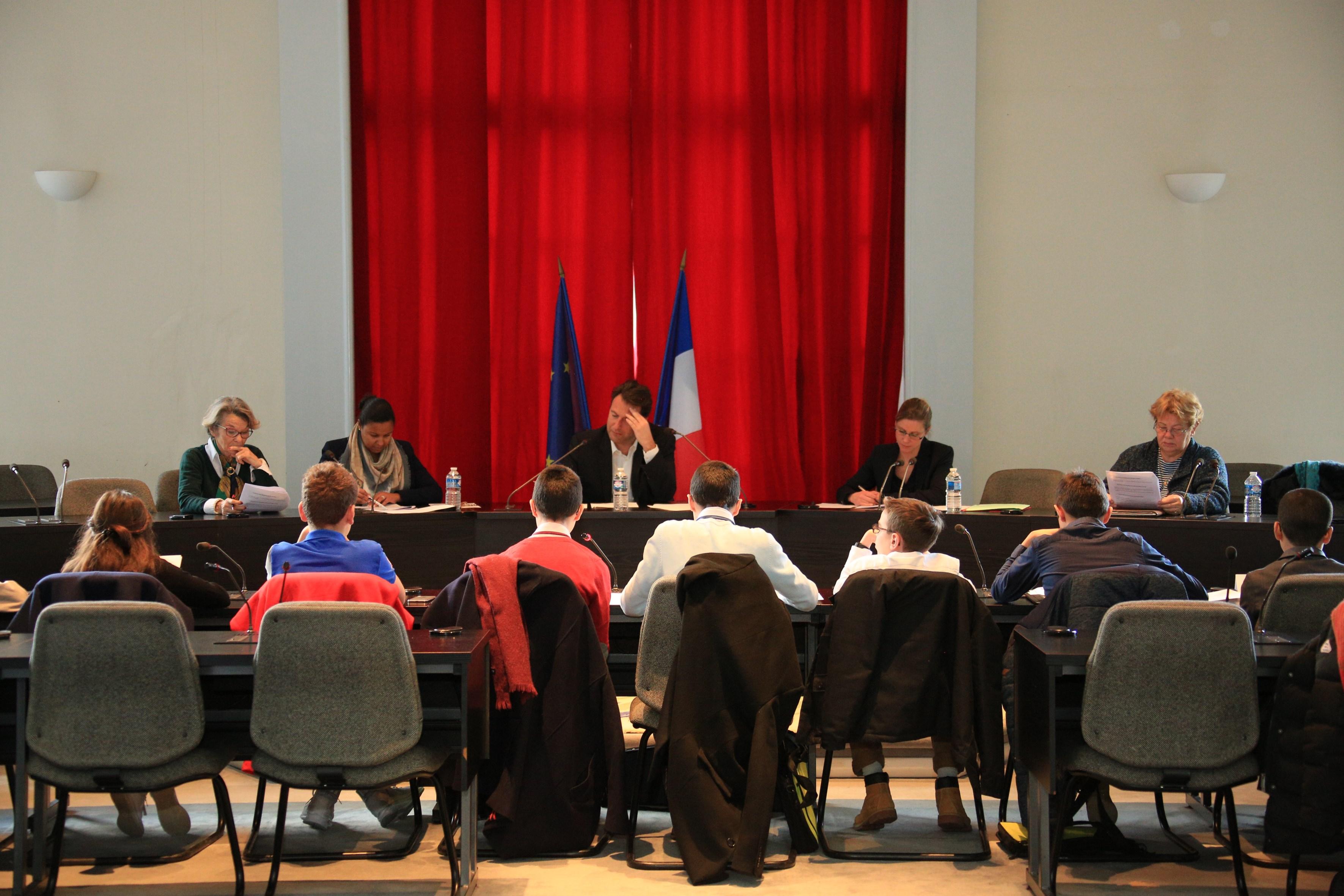 Séance pleinière du Conseil Consultatif des Jeunes