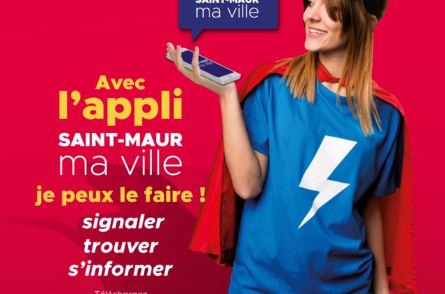 Découvrez l'application mobile de Saint-Maur : toute la ville dans votre poche !