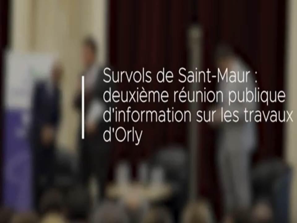 Survols de Saint-Maur : Deuxième réunion publique