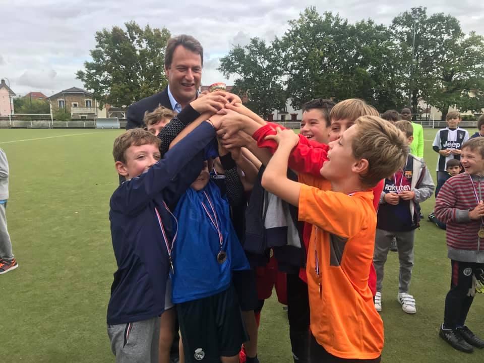 Tournoi de Football du Conseil Municipal des Enfants