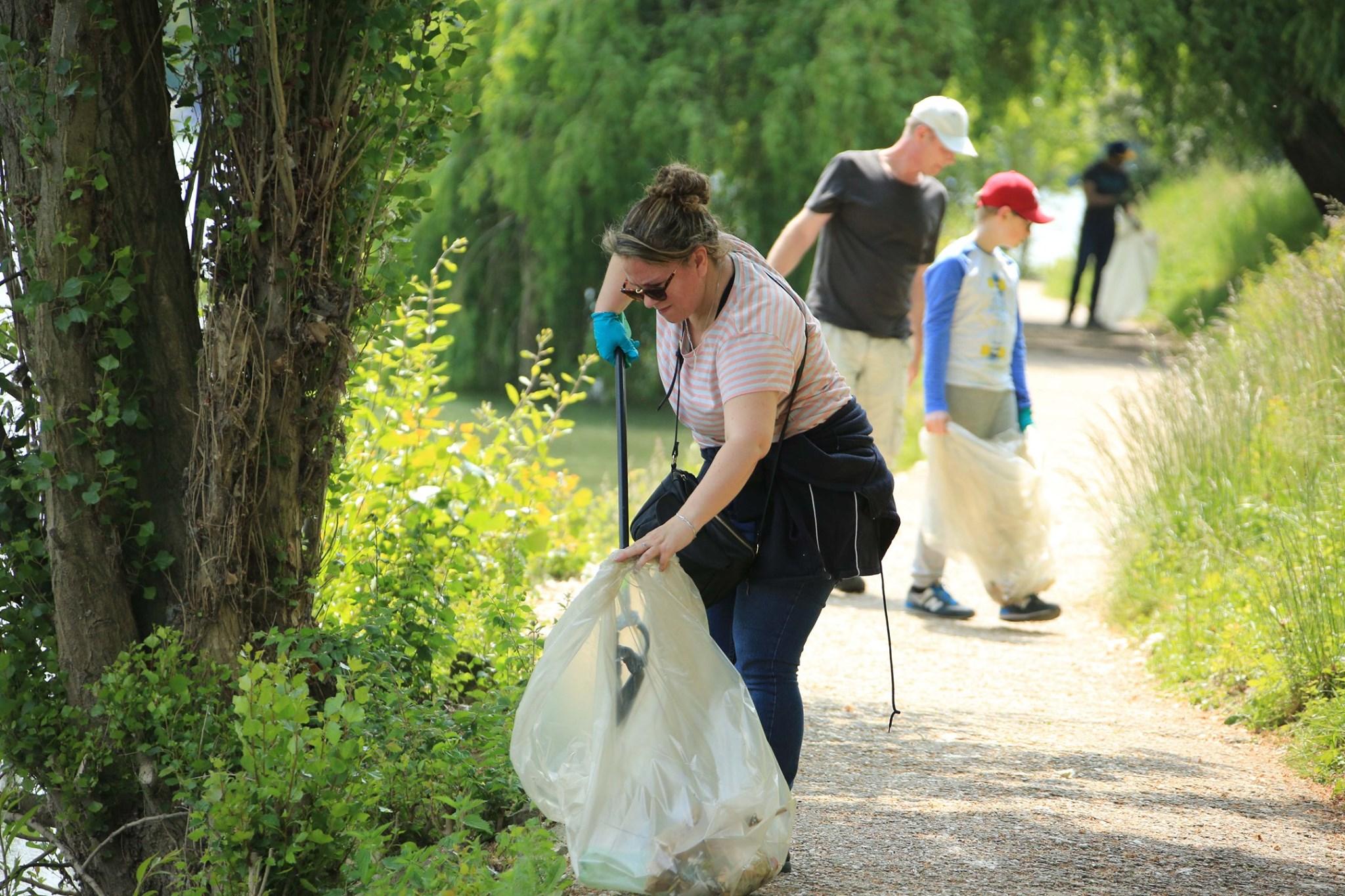 Reprise des journées de nettoyage des bords de Marne