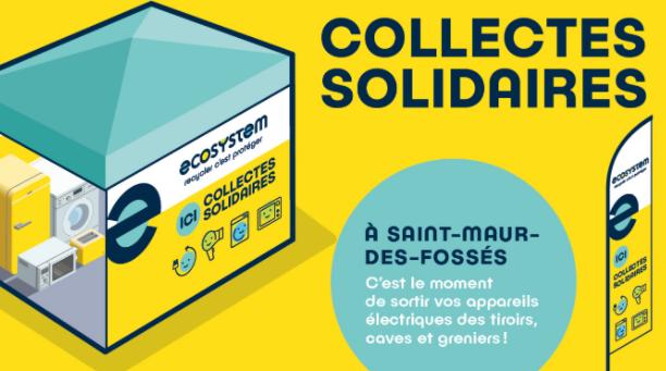 Collecte solidaire samedi 19 septembre