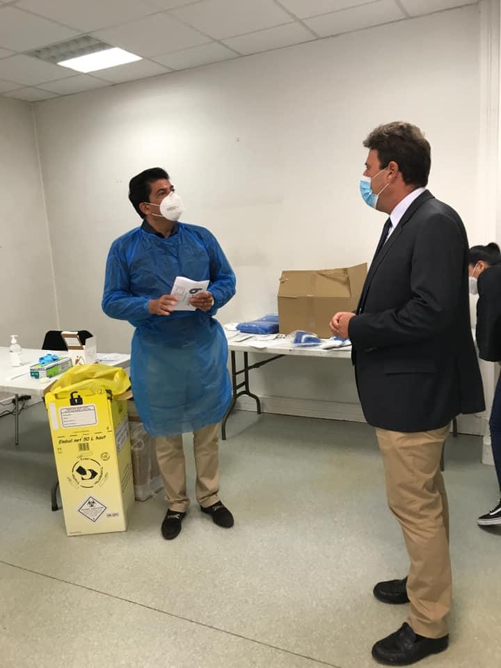 Centres de dépistage à Saint-Maur