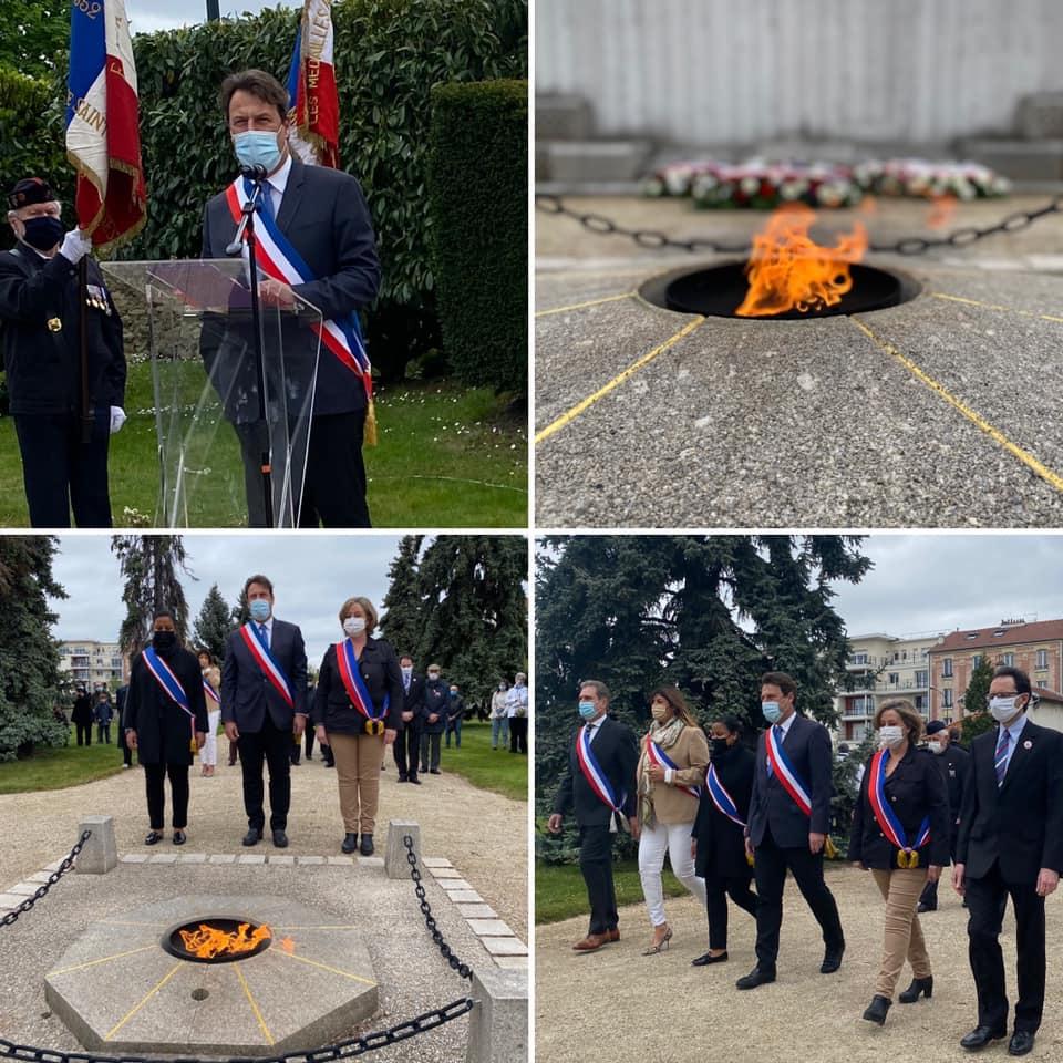 Commémoration du 76e anniversaire de la Victoire du 8 Mai 1945