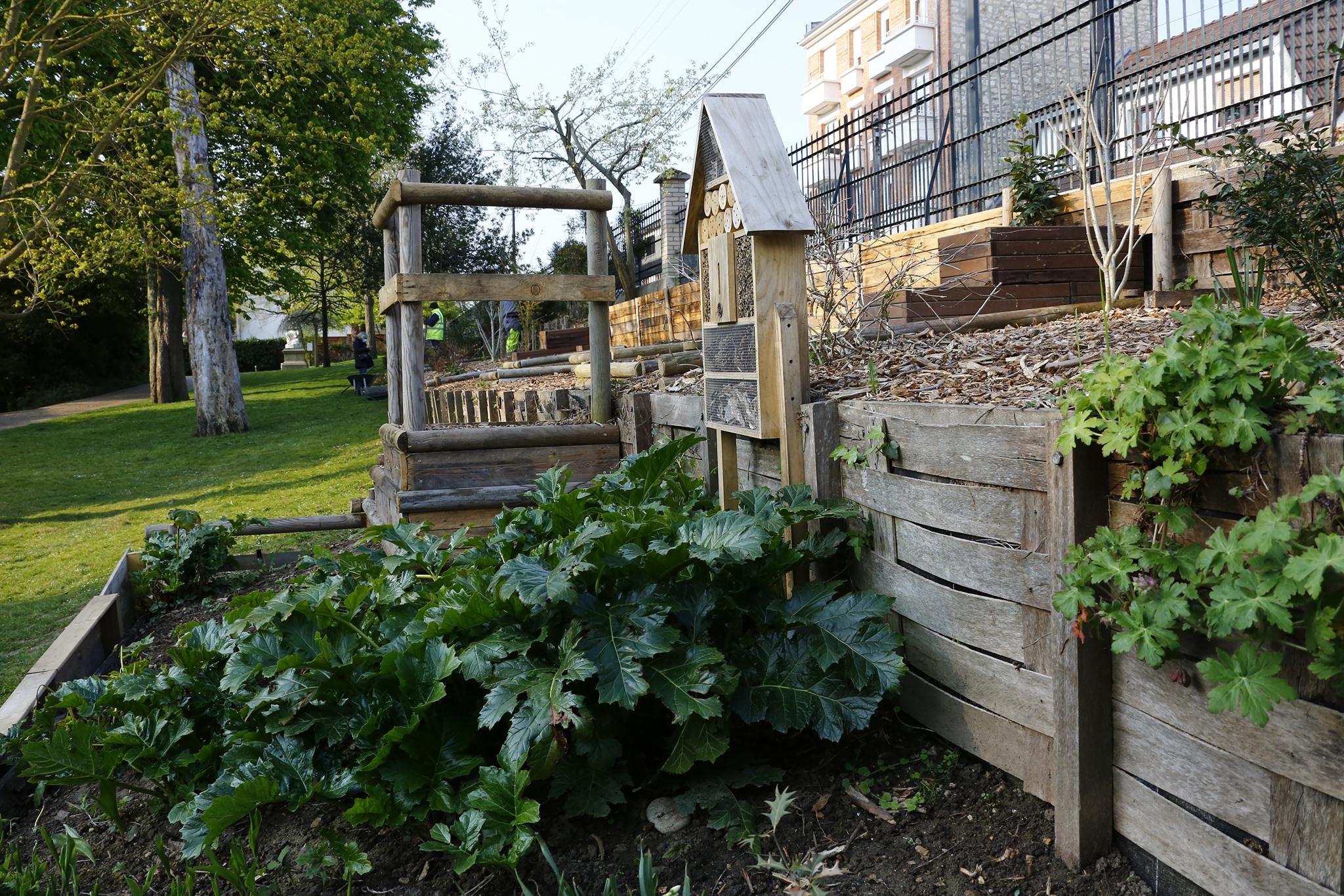 Des jardins potagers dans les squares pour une ville apaisée