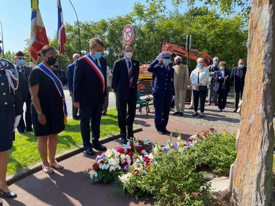 Commémoration d'hommage aux Morts pour la France en Indochine