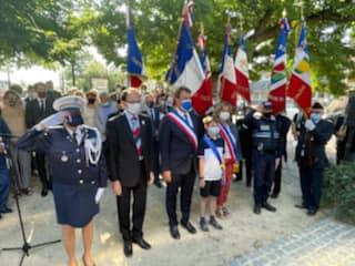 Commémoration du 25 août